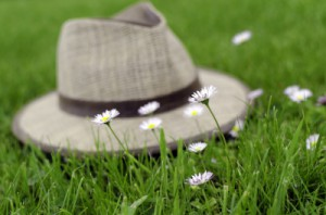 Flowers And Hat